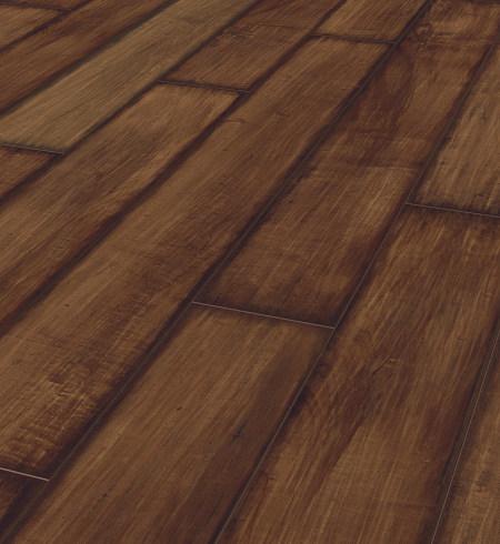 Premier glueless laminate flooring dark maple gurus floor for Glueless laminate flooring