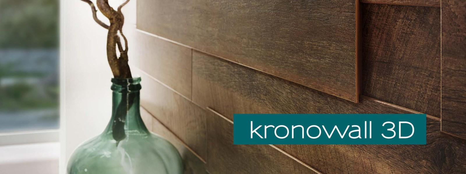 3d wandpaneele laminat mit 3d effekt kronowall 3d. Black Bedroom Furniture Sets. Home Design Ideas