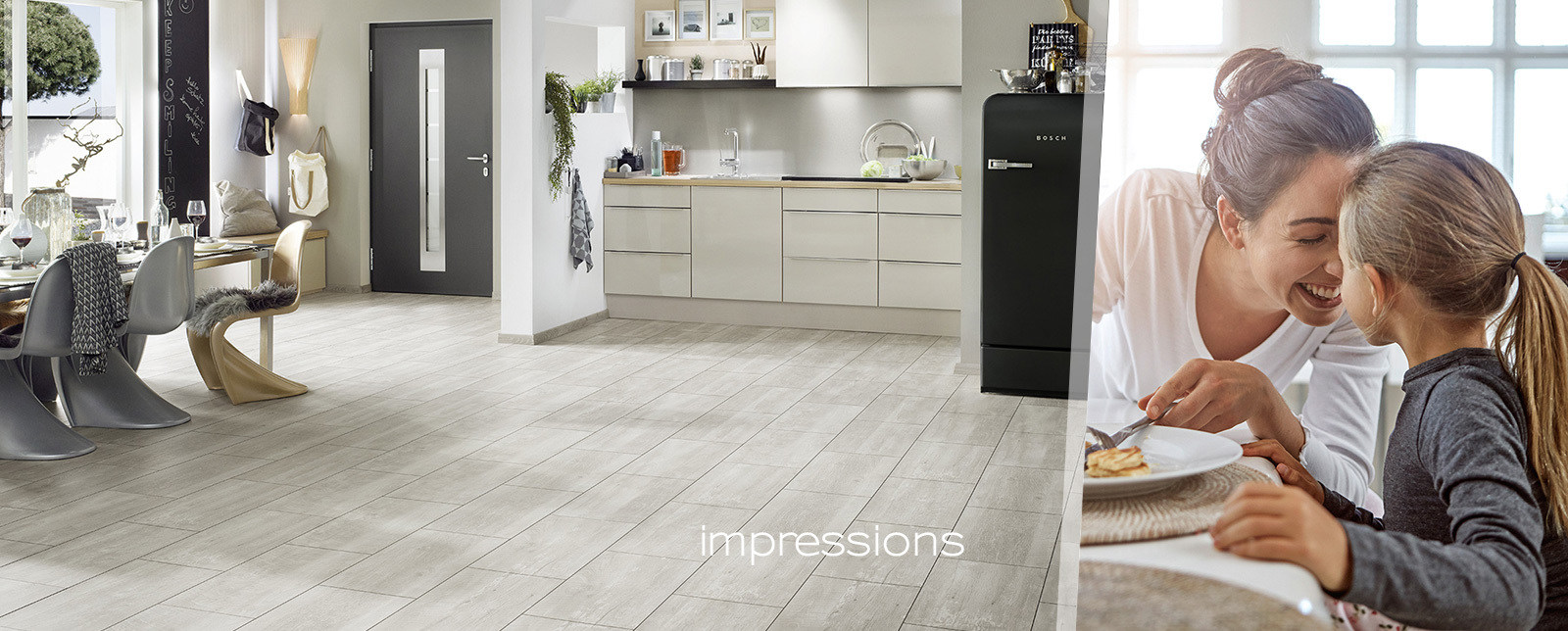 Laminate flooring impressions the ceramic tile look krono original dailygadgetfo Choice Image