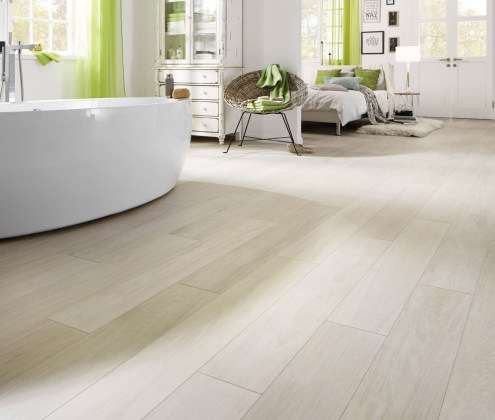 Laminate For Damp Rooms Such As Saunas