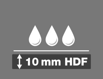 10 mm HDF