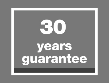 30 years guarantee