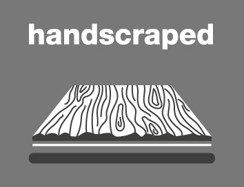 handscraped